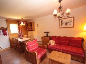 comfortabel 2 slaapkamer appartement bij de piste